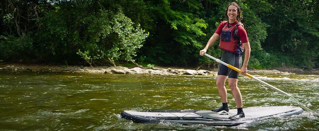 Descente paddle sur l'Ariège