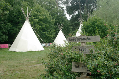 Camping tipi ariège
