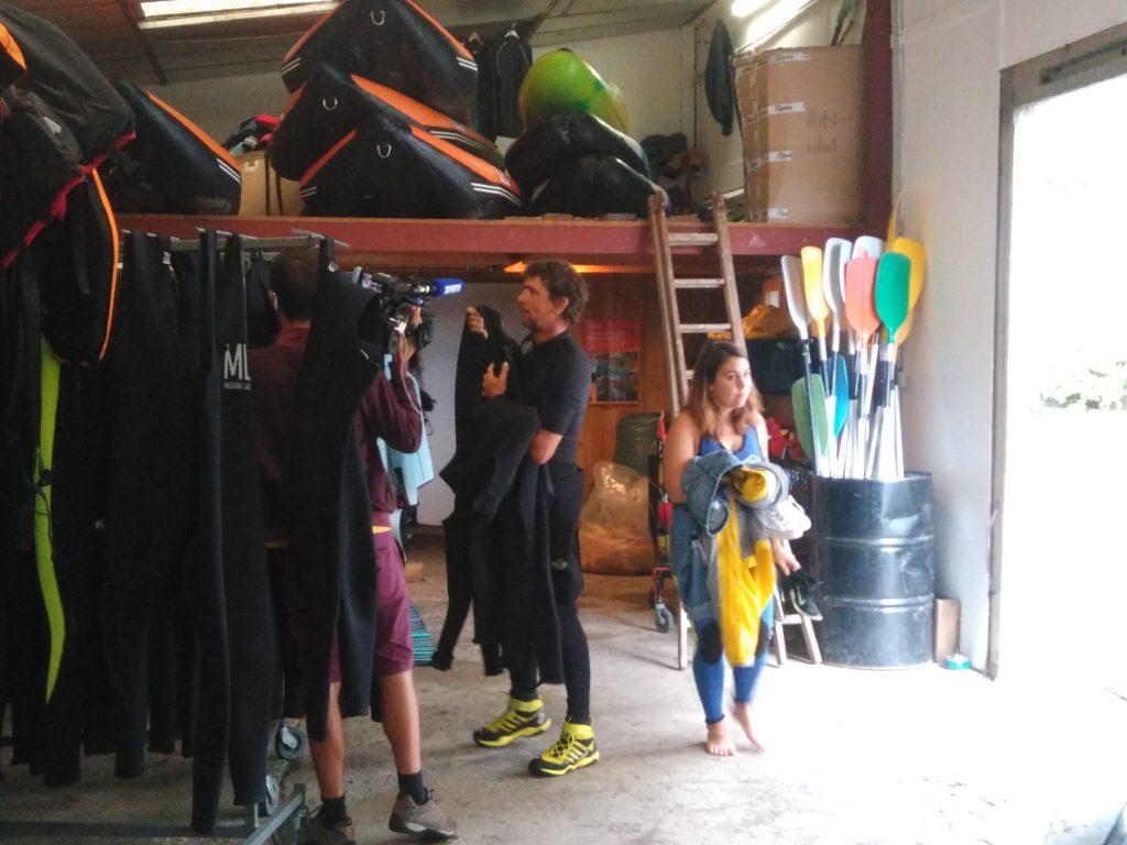 Base rafting à Foix