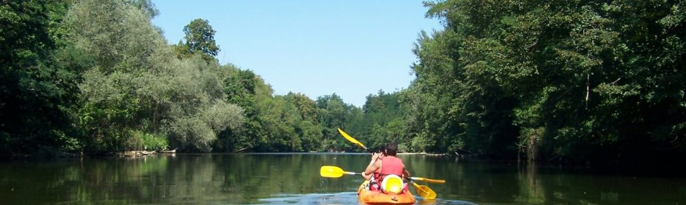 canoe sur l'ariege