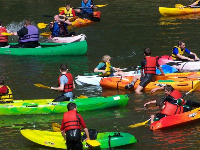 Journée canoe