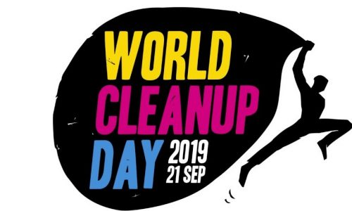 Logo clean up day