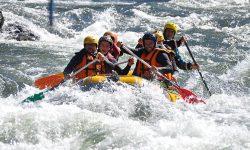 Rafting sur l'Ariège